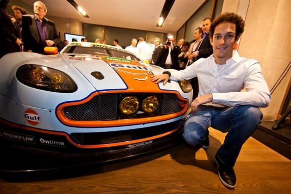 Bruno Senna com o seu Aston Martin de 2013