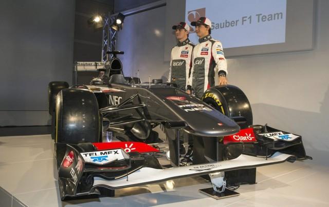 A nova dupla de pilotos da Sauber