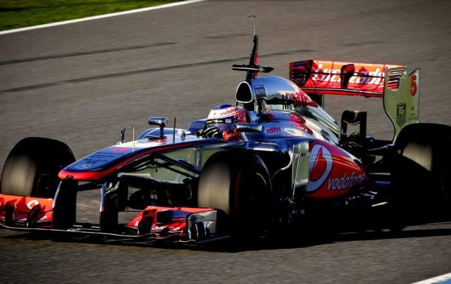 Jenson Button treinou só a tarde e ficou com o primeiro melhor tempo do ano!