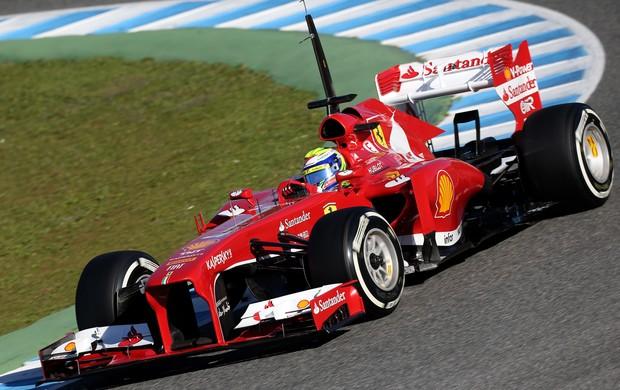 Felipe Massa dominou os treinos nessa quinta